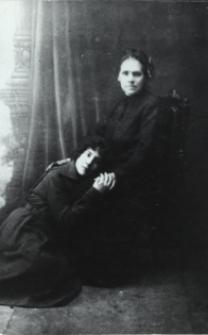 Matka z córką - mieszkanki Białej Podlaskiej [fotografia]
