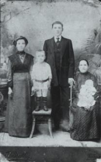 Rodzina Makarewiczów z Białej Podlaskiej [fotografia]
