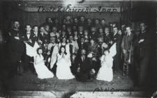 Teatr żołnierski 9 Pułku Artylerii Polowej [fotografia]
