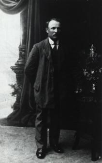 Mikołaj Kulawiec działacz niepodległościowy i społeczny z Łomaz [fotografia]