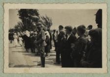 Odsłonięcie kopca w Żerocinie upamiętniającego Marszałka Józefa Piłsudskiego i pobyt I Brygady Legionów [fotografia]