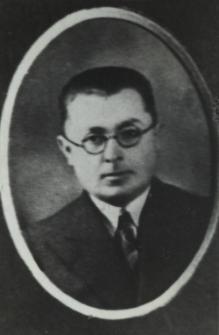 Pracownik sądu w Białej Podlaskiej - Jan Szybiński [fotografia]