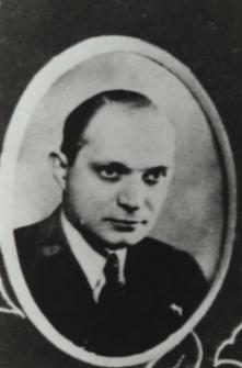 Pracownik sądu w Białej Podlaskiej - sędzia Adolf Delecki [fotografia]