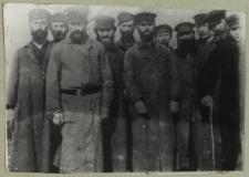 Grupa Żydów z radzynia Podlaskiego [fotografia]