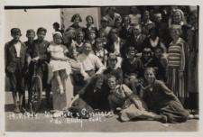 Uczniowie z Piszczaca na wycieczce w Białej Podlaskiej [fotografia]