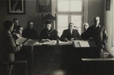 Pracownicy Sądu Grodzkiego w Janowie Podlaskim [fotografia]