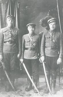Szlachta tuczniańska w odrodzonym wojsku polskim [fotografia]