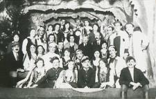 """Dramat ludowy """"Czartowska ława"""" w wykonaniu zespołu chóru parafii św. Anny w Białej Podlaskiej [fotografia]"""