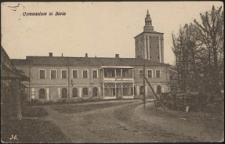 Gymnasium in Biala [pocztówka]