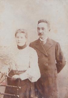 Zofia Bajrulewicz ( z domu Szyłańska) z mężem Romualdem [fotografia]