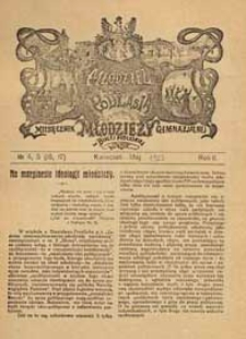 Młodzież z Podlasia : miesięcznik młodzieży gimnazjalnej w Białej Podlaskiej R. 2 (1923) nr 4-5 (16-17)