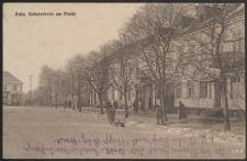 Biala, Soldatenheim am Markt [pocztówka]