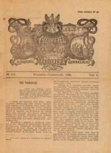 Młodzież z Podlasia : miesięcznik młodzieży gimnazjalnej w Białej Podlaskiej R. 5 (1926) nr 3-4