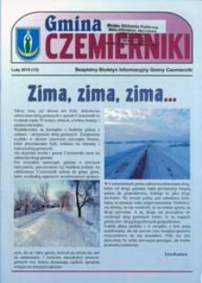 Gmina Czemierniki : Bezpłatny Biuletyn Informacyjny Gminy Czemierniki Nr 13 (2010)
