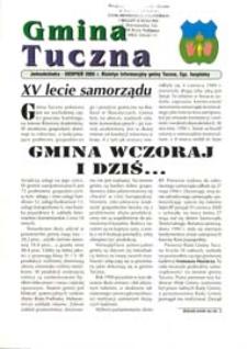 Gmina Tuczna : Biuletyn Informacyjny Gminy Tuczna [Nr 1] (sierpień 2005)