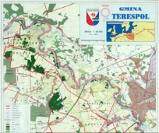 Gmina Terespol - plan gminy