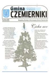 Gmina Czemierniki : Bezpłatny Biuletyn Informacyjny Gminy Czemierniki [Nr 4] (grudzień 2005)