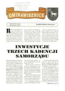 Gmina Wisznice: Bezpłatny Biuletyn Informacyjny [Nr 1] (2002)