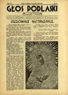 Głos Podlaski : tygodnik prawdą i pracą R. 9 (1938) nr 46