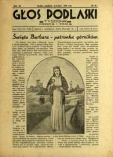 Głos Podlaski : tygodnik prawdą i pracą R. 9 (1938) nr 49