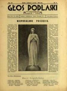 Głos Podlaski : tygodnik prawdą i pracą R. 9 (1938) nr 50