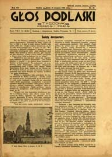 Głos Podlaski : tygodnik prawdą i pracą R. 7 (1936) nr 34