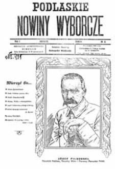 Podlaskie Nowiny Wyborcze R. 1 (1922) nr 3