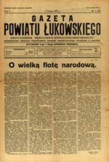 Gazeta Powiatu Łukowskiego : dwutygodnik oświatowo-społeczno-gospodarczy R. 5 (1932) nr 3 (42)