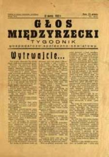 Głos Międzyrzecki : jednodniówka Międzyrzeckiego Ogniska Nauczycielskiego R. 8 (1932) nr 10-11