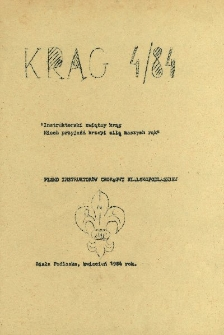 Krąg : pismo instruktorów Chorągwi Bialskopodlaskiej R. 2 (1984) nr 4