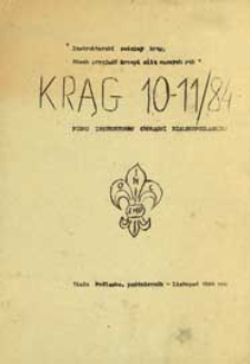 Krąg : pismo instruktorów Chorągwi Bialskopodlaskiej R. 2 (1984) nr 10-11