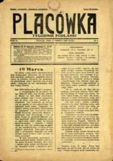 Placówka : tygodnik podlaski R. 4 (1929) nr 2