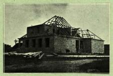 Budowa szkoły w Koszołach [dokument ikonograficzny]