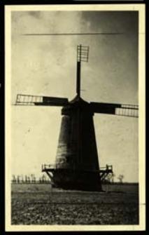 Nieistniejący wiatrak w majątku Cieleśnica [dokument ikonograficzny]