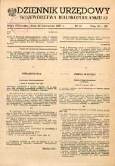 Dziennik Urzędowy Województwa Bialskopodlaskiego R. 13 (1987) nr 13