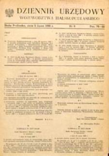Dziennik Urzędowy Województwa Bialskopodlaskiego R. 14 (1988) nr 8