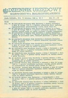 Dziennik Urzędowy Województwa Bialskopodlaskiego R. 16 (1990) nr 9