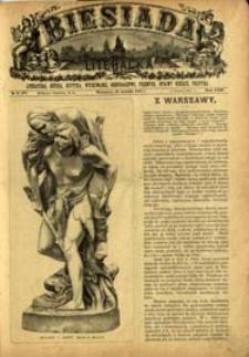 Biesiada Literacka : literatura, sztuka, krytyka, wychowanie, gospodarstwo, przemysł 1887 t. 23 nr 3 (577)