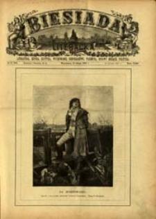 Biesiada Literacka : literatura, sztuka, krytyka, wychowanie, gospodarstwo, przemysł 1887 t. 23 nr 6 (580)