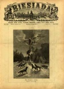 Biesiada Literacka : literatura, sztuka, krytyka, wychowanie, gospodarstwo, przemysł 1887 t. 23 nr 8 (582)