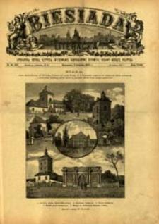 Biesiada Literacka : literatura, sztuka, krytyka, wychowanie, gospodarstwo, przemysł 1887 t. 23 nr 13 (587)