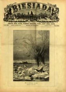Biesiada Literacka : literatura, sztuka, krytyka, wychowanie, gospodarstwo, przemysł 1887 t. 23 nr 16 (590)