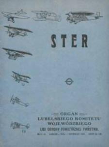 Ster : Organ Lubelskiego Komitetu Wojewódzkiego Ligi Obrony Powietrznej i Przeciwgazowej R. 2 (1927) nr 5-6