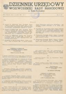 Dziennik Urzędowy Wojewódzkiej Rady Narodowej w Białej Podlaskiej R. 9 (1983) nr 5