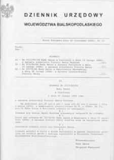 Dziennik Urzędowy Województwa Bialskopodlaskiego R. 22 (1996) nr 13