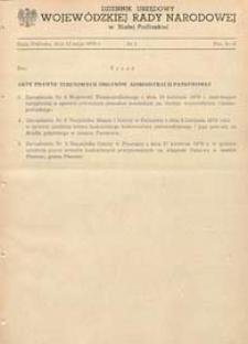 Dziennik Urzędowy Wojewódzkiej Rady Narodowej w Białej Podlaskiej R. 5 (1979) nr 2