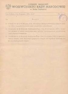 Dziennik Urzędowy Wojewódzkiej Rady Narodowej w Białej Podlaskiej R. 5 (1979) nr 6