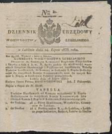 Dziennik Urzędowy Województwa Lubelskiego 1833 nr 30