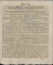 Dziennik Urzędowy Województwa Podlaskiego 1837 nr 11