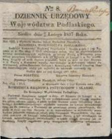 Dziennik Urzędowy Województwa Lubelskiego 1837 nr 8
